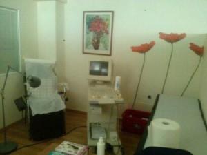 ein Behandlungszimmer